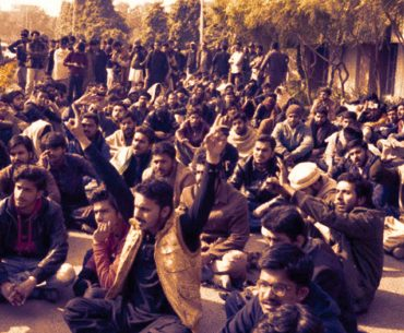 PU protesters: Violent Clash Between PU Students