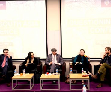 Panel Discussion at Questioning South Asia conference