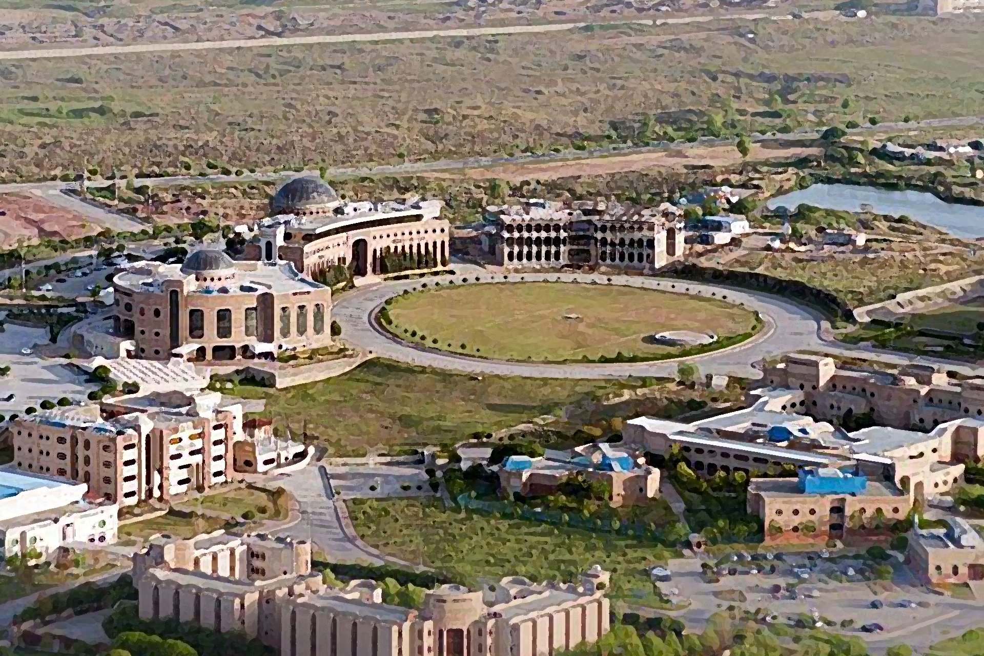 NUST main campus from above