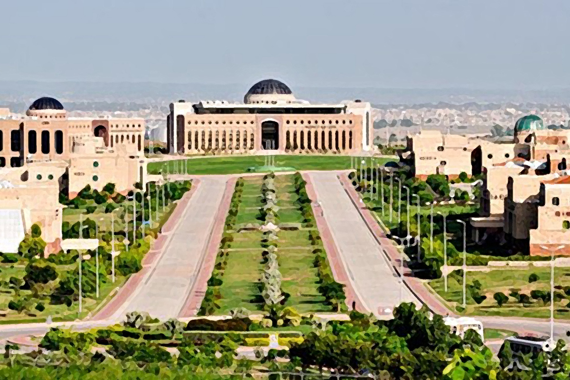 The Scholars Avenue at NUST